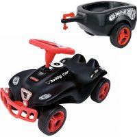 Big Prívesný vozík Bobby car čierny 3