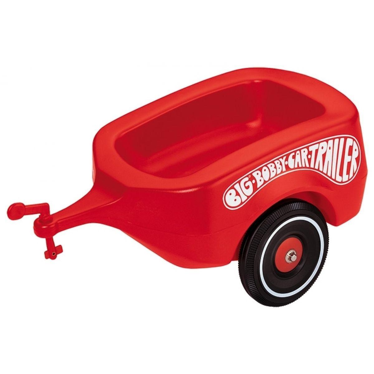 Big Prívesný vozík Bobby červený