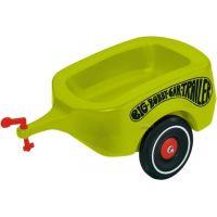 BIG Prívesný vozík zelený Bobby Car