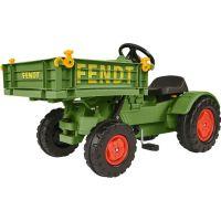 Big Šlapací traktor Fendt s vyklápacou plošinou