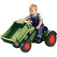 Big Šlapací traktor Fendt s vyklápacou plošinou 2