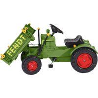 Big Šlapací traktor Fendt s vyklápacou plošinou 3
