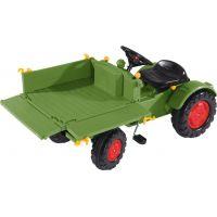 Big Šlapací traktor Fendt s vyklápacou plošinou 4