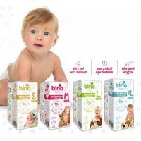 Bino Baby Premium Plienky veľ. M 6-11kg 6x10 ks s darčekom 3