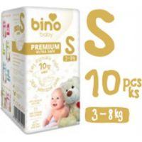Bino Baby Premium Pleny vel. S 3-8kg 6x10 ks s dárkem