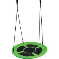 Bino Detská hojdacia kruhová rohož zelená