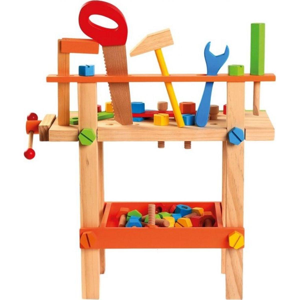 Bino Detský pracovný stôl s náradím