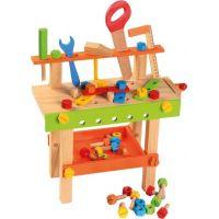 Bino Detský pracovný stôl s náradím 2