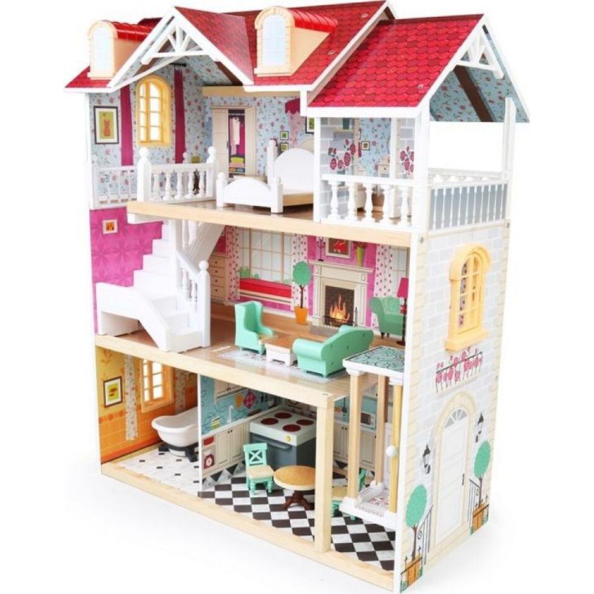 Bino Domček pre bábiky 5 poschodí