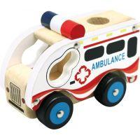 Bino Drevené auto ambulancie