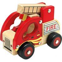 Bino Drevené auto hasiči