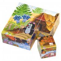 Bino kocky Pani Krtková v krabičke 9 kusov - Poškodedný obal  2