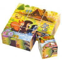 Bino kocky Pani Krtková v krabičke 9 kusov - Poškodedný obal  3