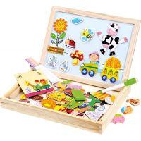 Bino Farma magnetická tabuľka s puzzle