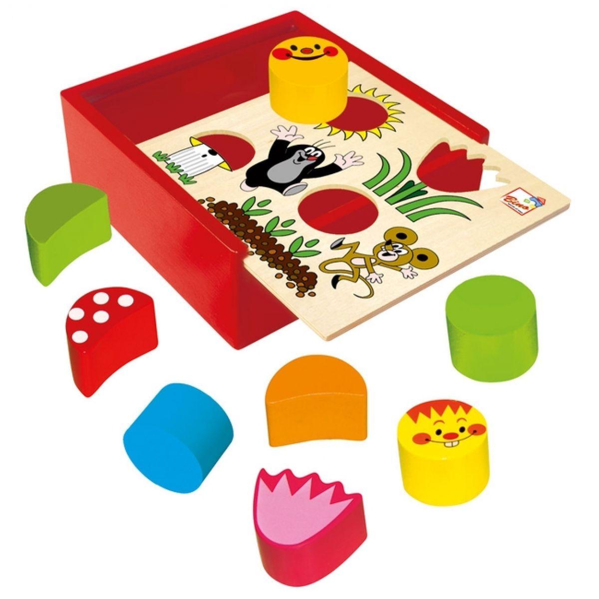 Bino Krabička s tvary Krtek