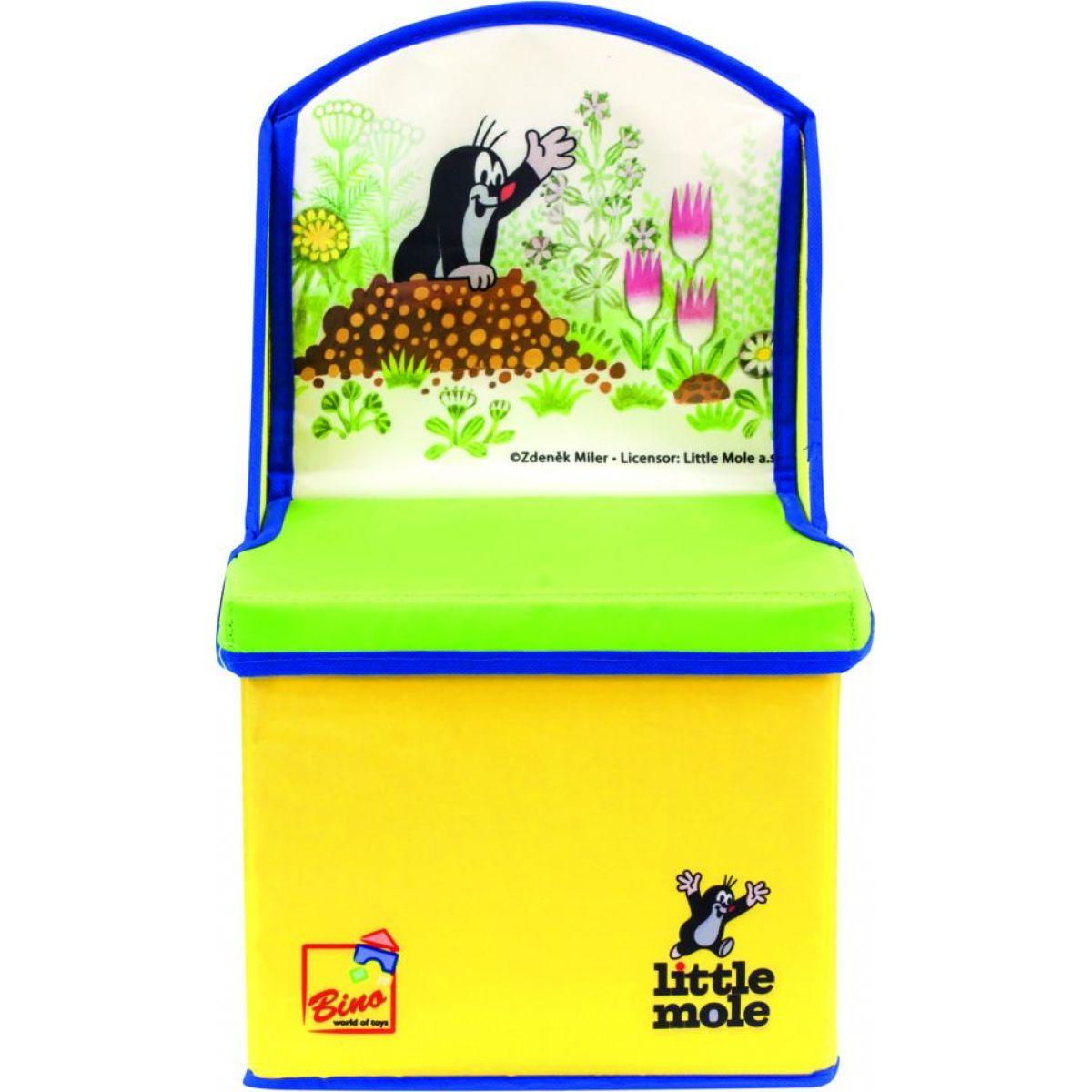 Bino Krtko v box na hračky stoličky