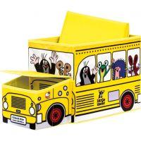 Bino Krtko krabica na hračky bus 2