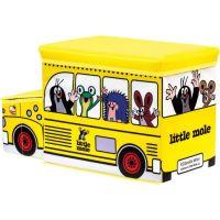 Bino Krtko krabica na hračky bus 3