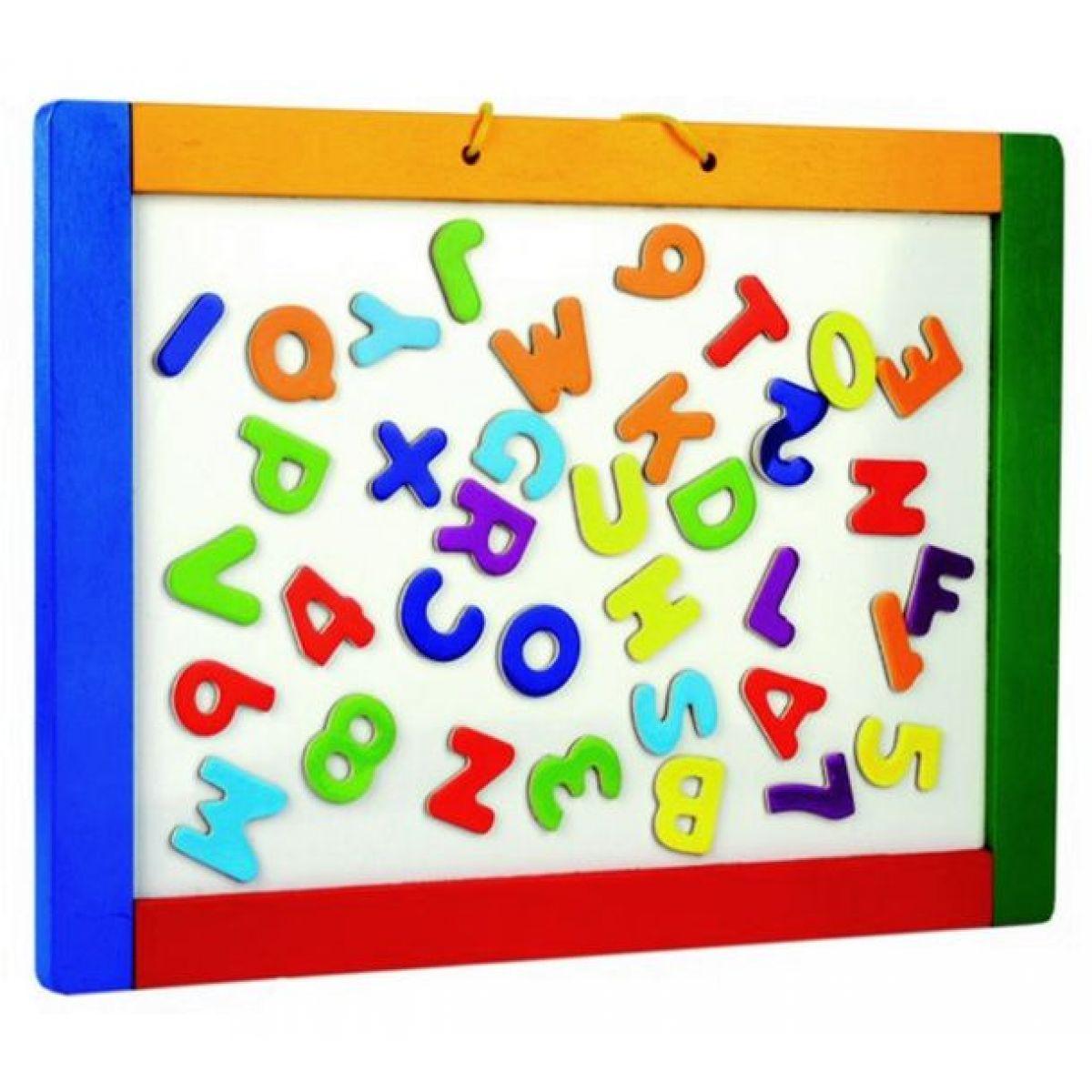 Magnetická tabuľa s písmenkami
