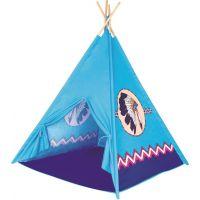 Bino Stan TeePee, indiánsky modrý