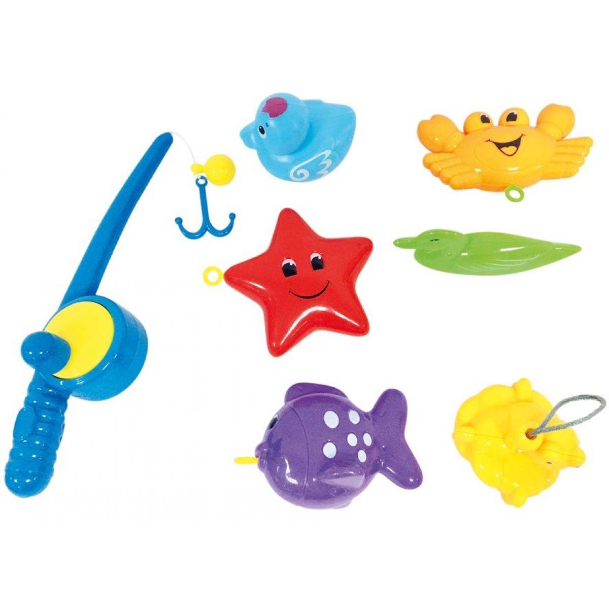 Bino Water Fun Sada hračiek s udicou