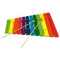 Bino Detský hudobný nástroj Xylofón 12 tónov