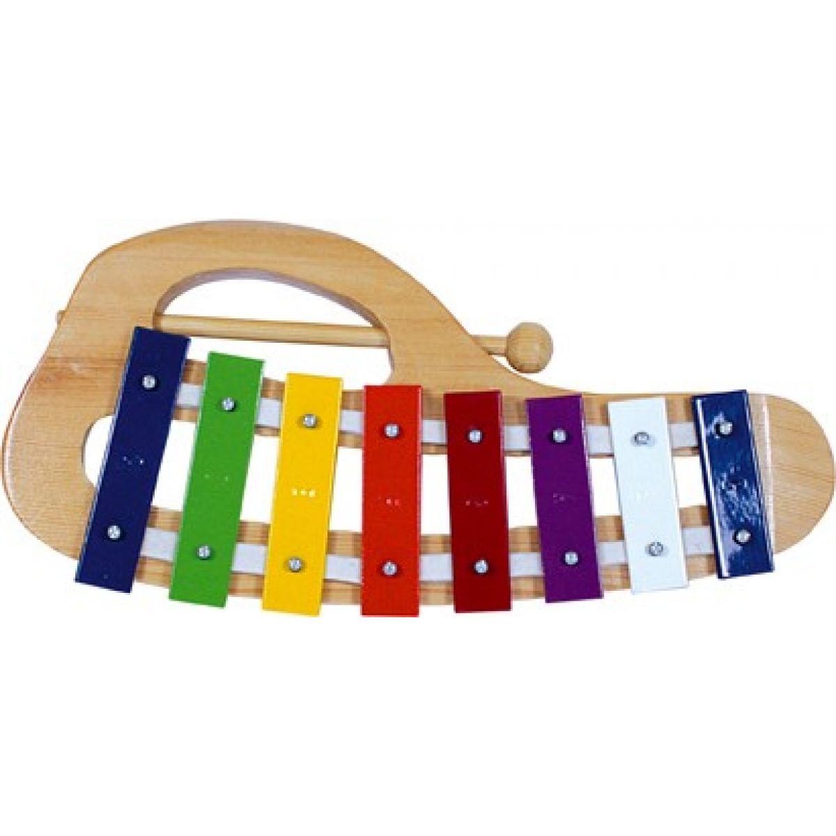Bino oblúkový xylofón
