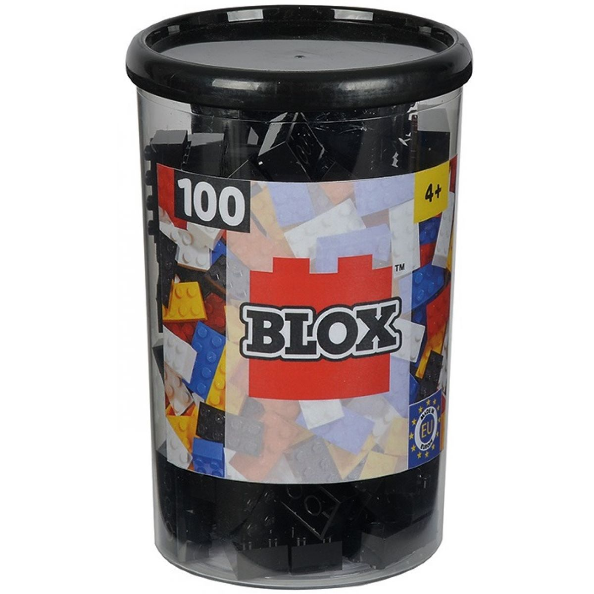 Blox 100 Kocky čierne