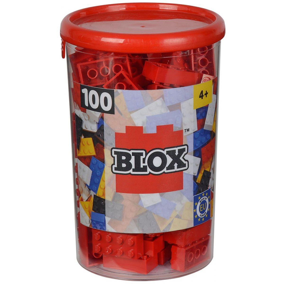 Blox 100 Kocky červené