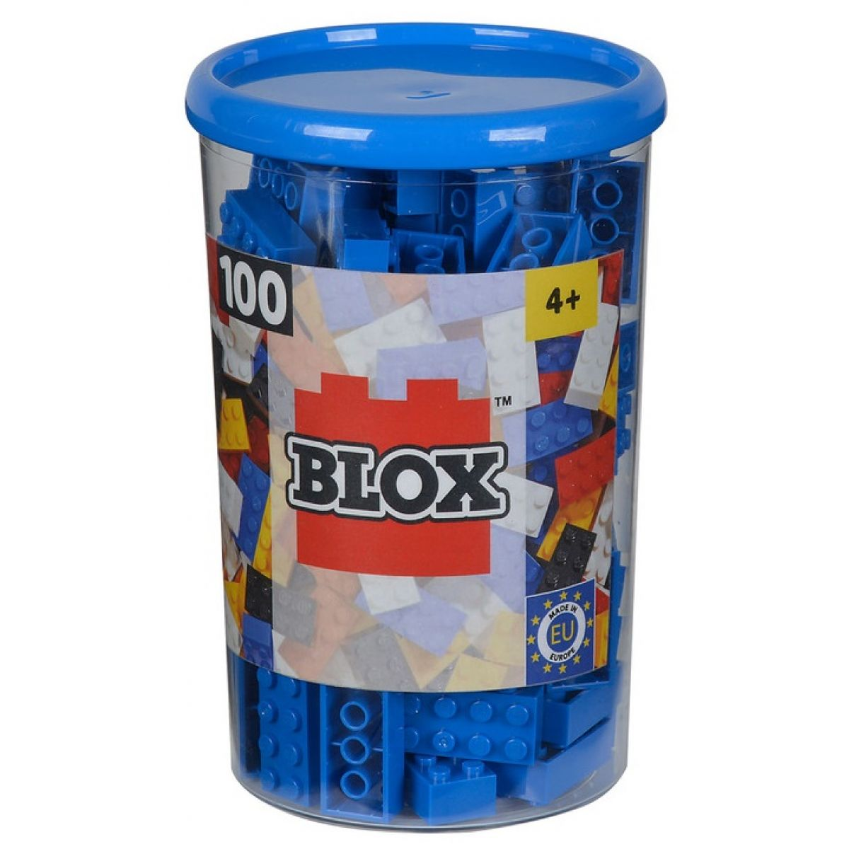 Blox 100 Kocky modré