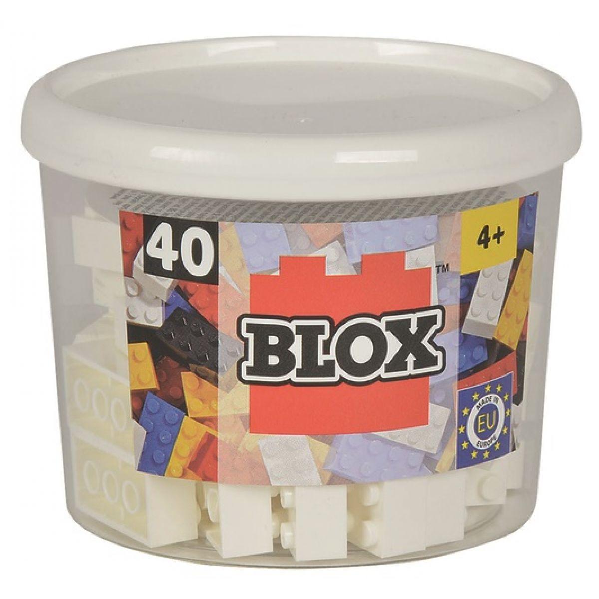 Blox 40 Kocky biele