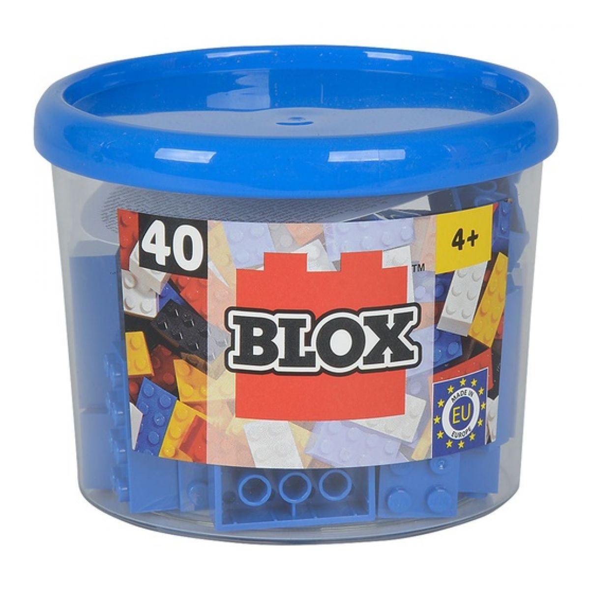 Blox 40 Kocky modré