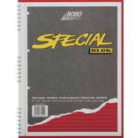 BOBO Poznámkový blok Speciál A4 linka