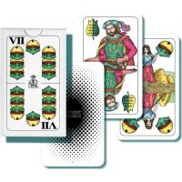 Sada dvouhlavých karet na Mariáš