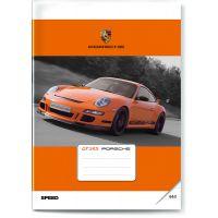 BONAPARTE Sešit Auto 444 Porsche