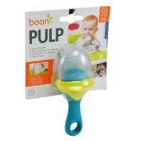 Boon silikonové krmítko Pulp zeleno modré 3