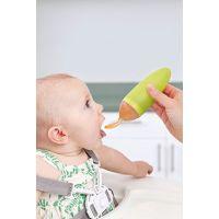 Boon Squirt Kŕmiaca lyžička s dávkovačom - zelená 2
