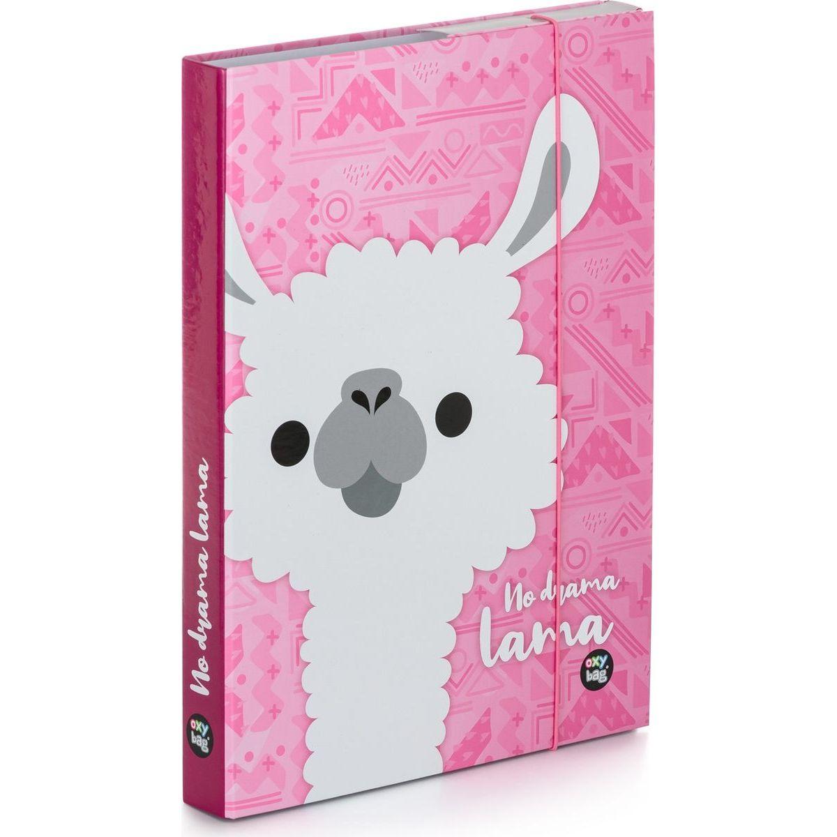 Karton P + P Box na zošity A4 Lama
