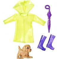 Mattel Barbie Club Chelsea oblečky a doplňky žlutá pláštěnka
