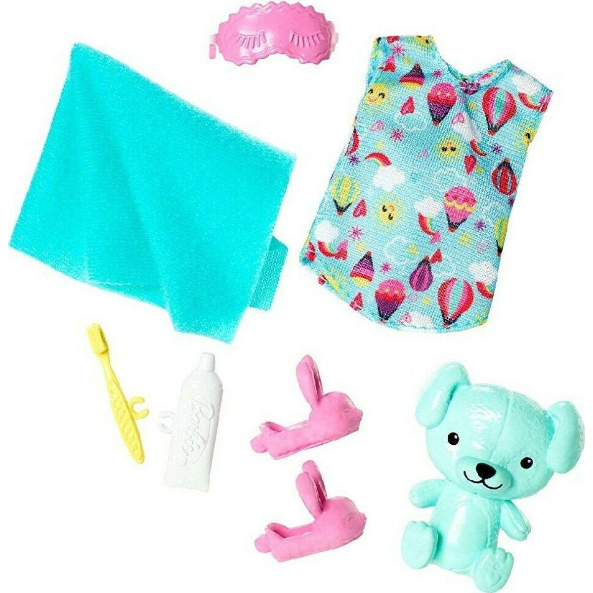 Mattel Barbie Club Chelsea oblečky a doplnky medvedík