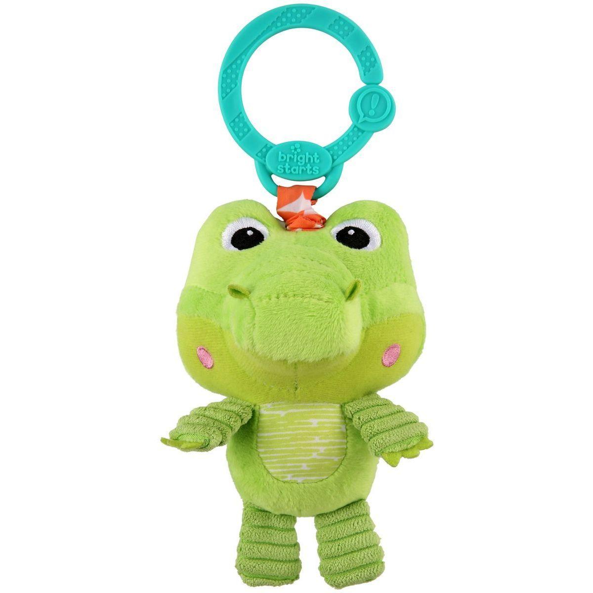 Bright Starts Hračka plyšová na C krúžku Take and Shake krokodíl