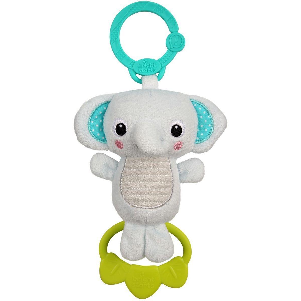 Bright Starts Hračka s melódiou na C krúžku Tug Tunes slon