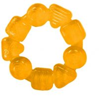 Bright Starts Hryzátko plnené vodou 3m+ žltá