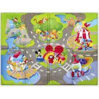 Bright Starts Podložka penová skladacia Disney Pals 120 x 89cm 6m+