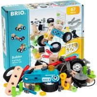 Brio Stavebnica Brio Builder pull-back systém