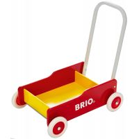 Brio Chodítko vozík červenožltý