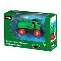 Elektrická lokomotíva zelená Brio 33214 2