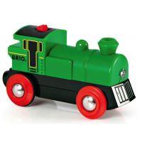 Elektrická lokomotíva zelená Brio 33214