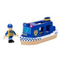 Brio Policejní loď se světlem a zvukem