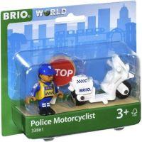 Brio Policejní motorka II. 2